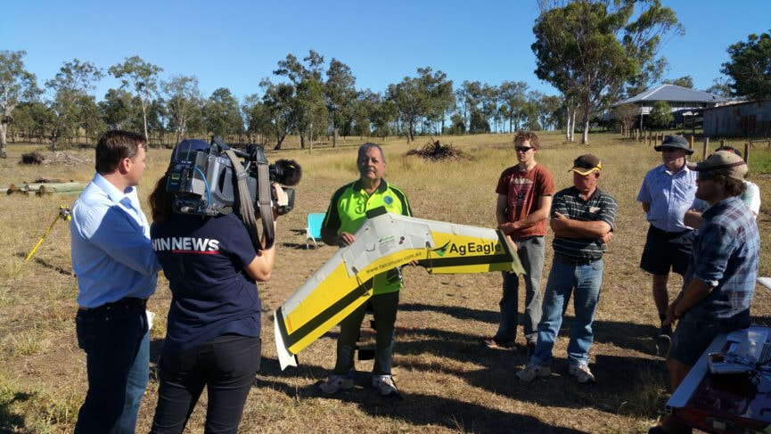 UAV demo day in Laidley