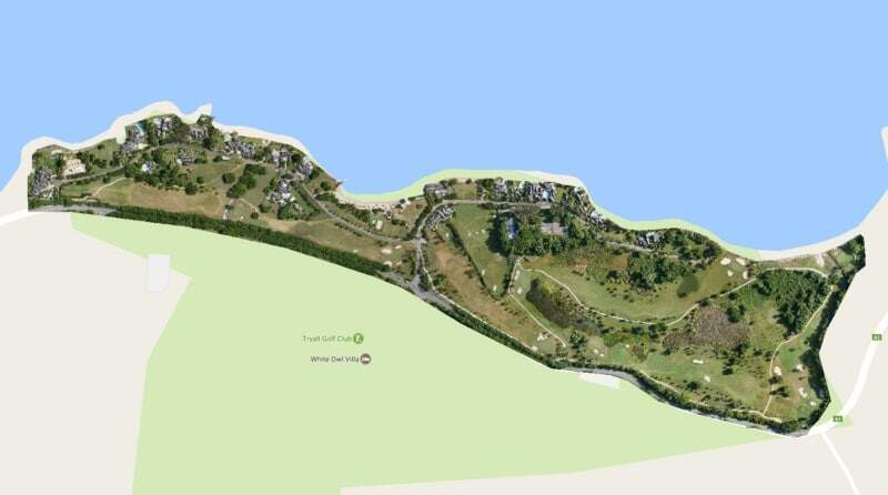 3D model of golf course