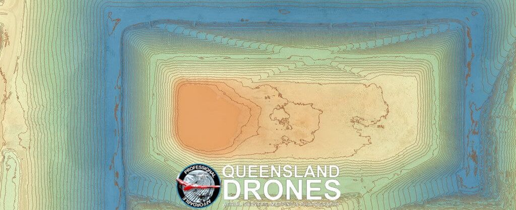 Drone topographic mapping can be used to measure against as-built design data