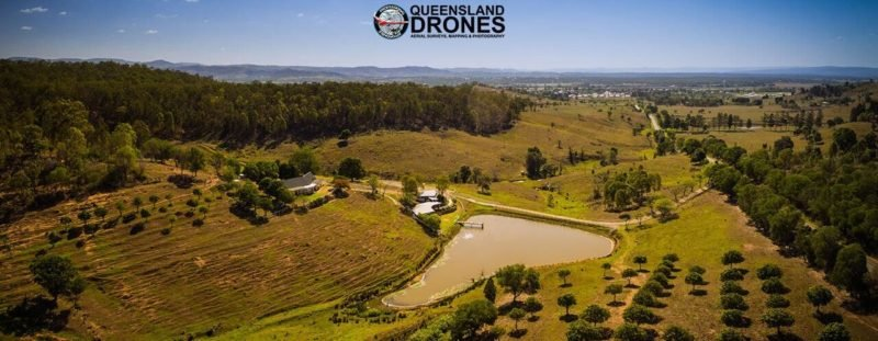 Aerial tourism photography panoramic photo