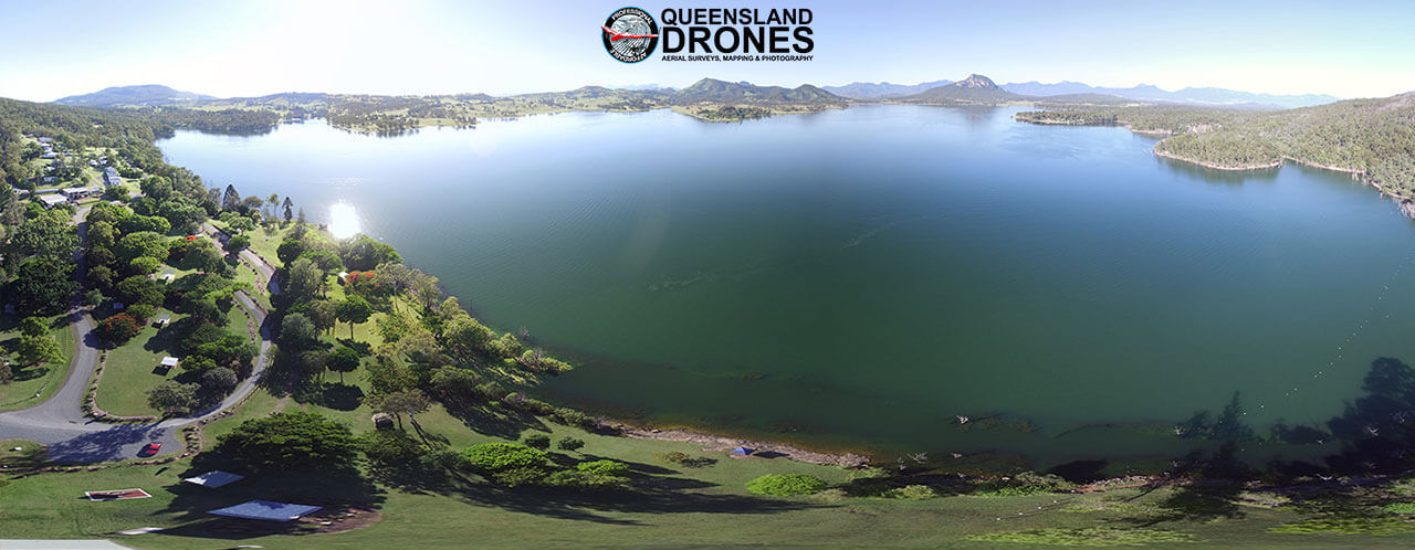 Aerial tourism photography