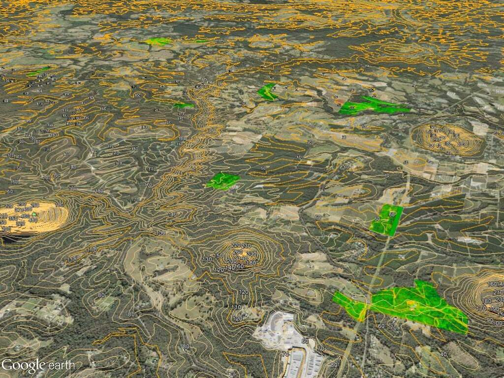 NDVI mapping of macadamia orchards