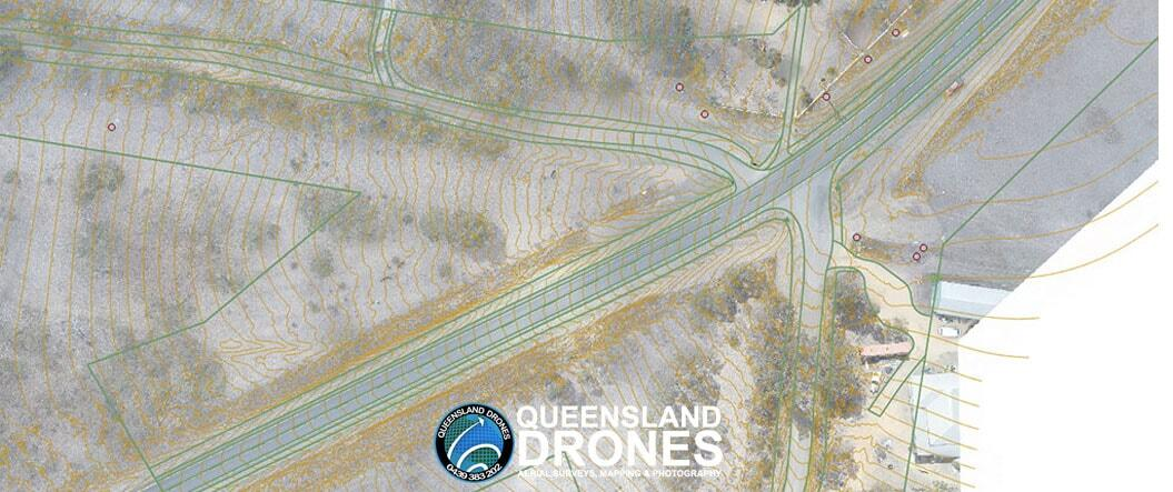 Precision Aerial Topographic Mapping with Planimetric Feature Overlay