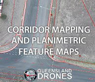 Corridor Mapping and Planimetric Feature Mapping