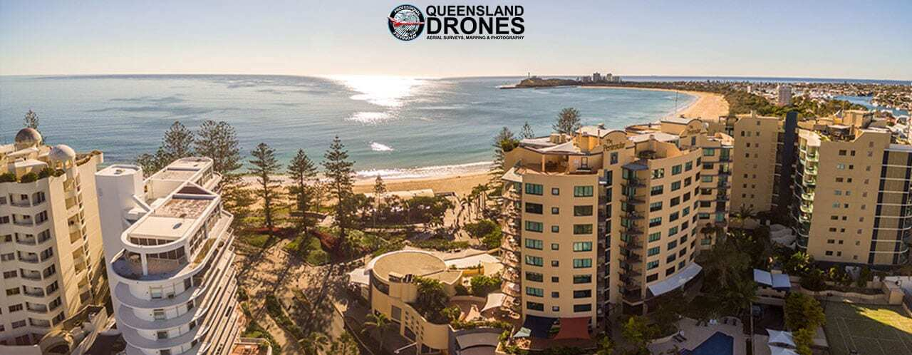 Projected property views using drones