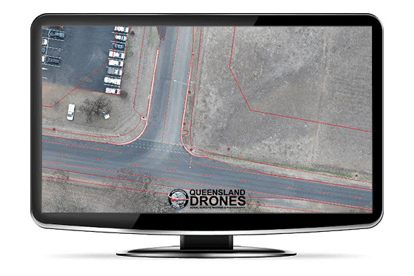 Road Mapping With Breaklines in monitor