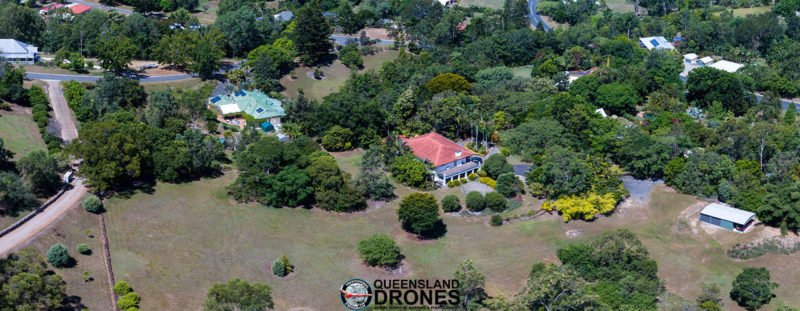 Aerial acreage and rural photography Queensland