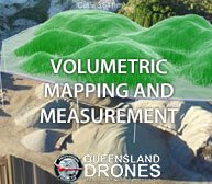 Volume Mapping and Measurement Using Drones