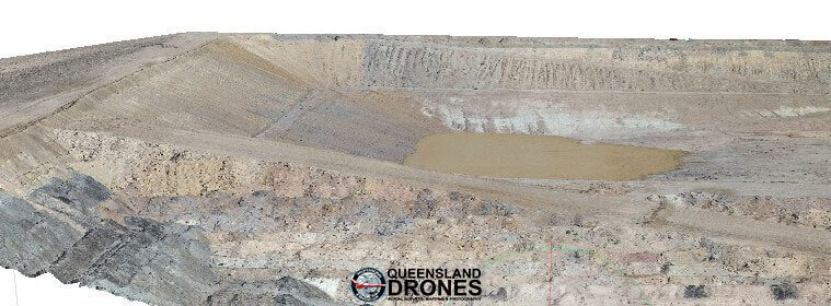 Precision volumetric measurement from 3D aerial mapping