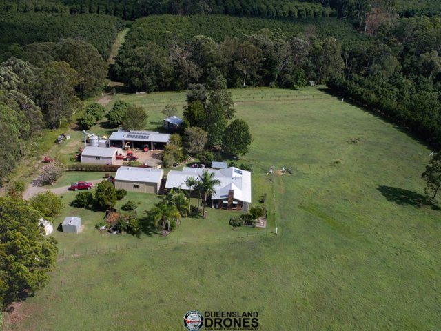 aerial rural acreage photography