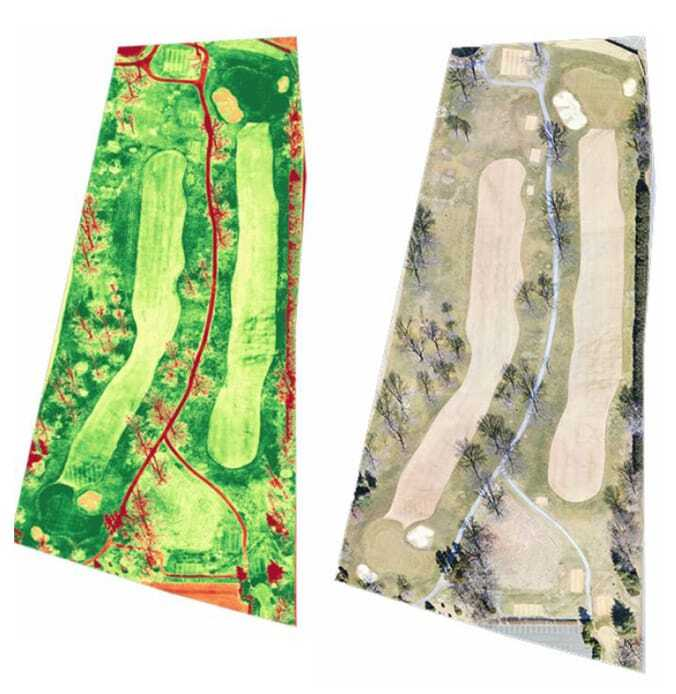 golf course ndvi mapping