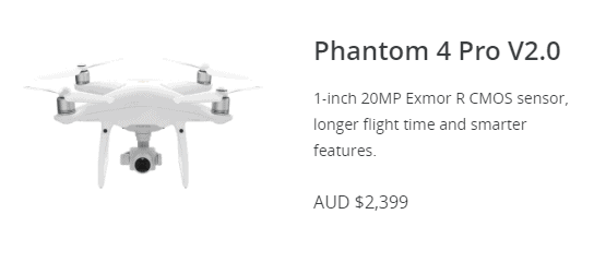 phantom 4 pro promo
