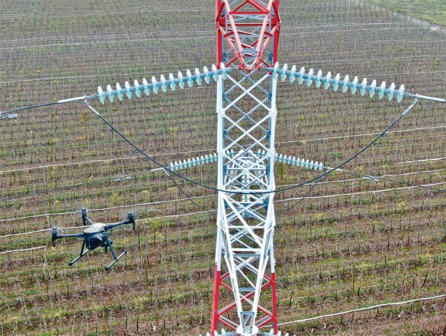 Queensland Drones delivers critical asset inspection for electricity towers and transmission infrastructure