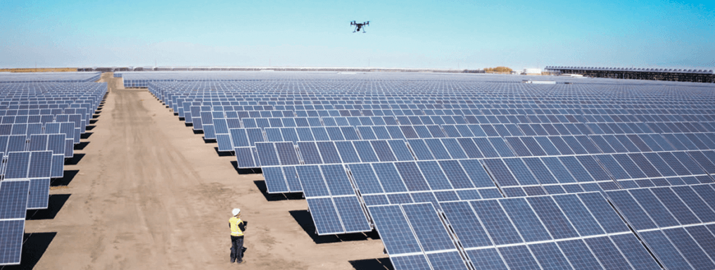 Queensland Drones delivers precision visual and thermal inspection of solar panels and solar farms