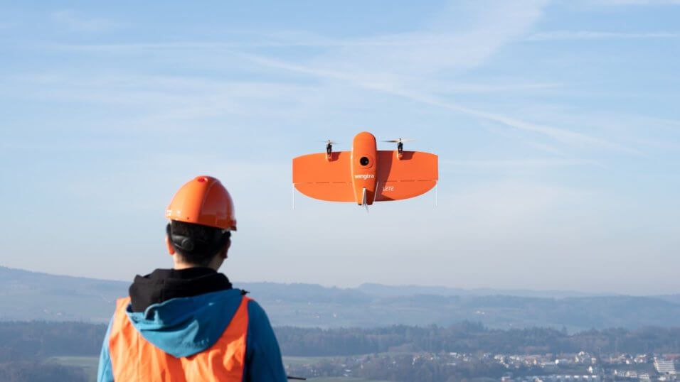 Latest VTOL UAV technology used by Queensland Drones